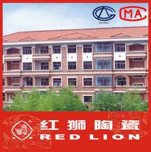 Roof ridge tile S16 outdoor roofing tiles 400*285mm