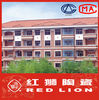 Roof ridge tile S16 outdoor roofing tiles 400*285mm