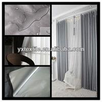 cheap china wholesale taffeta blackout widow curtain fabric