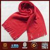 with tassel new style pink polar fleece scarf
