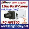 100% original zhejiang dahua ip box camera ipc hfw3300 3megapixel high quality poe network ip cameras with onvif icr