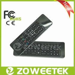 Portable 3d 2.4g tv remote control, ipad wireless keyboard