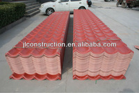 Long Color Lasting PMMA/ASA Coated Resin Roof Tile--Europe Design Width 900mm
