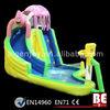 Cute Spongebob Inflatable Water Slide