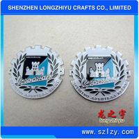 Custom Car Abs Emblem Badges Car Metal Plate