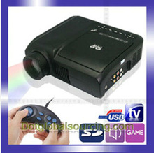 Hot Selling Wholesale LED DVD Projector Video Film Game Multimedia Player 1080P HDMI HD Home Theater Support TV USB DVD Cinema