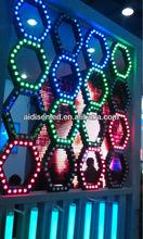 digital rgb dome SMD 5050 RGB full color Pixel 1903 IC round module program light effect for DJ KTV night club