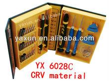 yx 6028 professional universal mobile phone repairing tools /screwdrivers