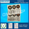 integrated circuit moisture sensitive indicator paper