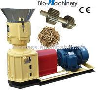 Biofuel wood pellets machine