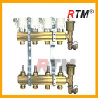 Floor heating systems & parts brass manifold