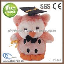 New toys 2013 Graduation plush owl toy