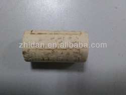 Natural tapered cork stopper, wine bottle stopper,filling