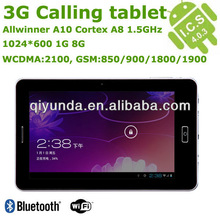 """Cheapest 7"""" multi-touch A10 android mobile phone 7"""" tablet"""