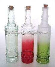wedding favors,vintage glass bottle with corks
