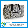 new design leopard print foldable nylon travelling bag