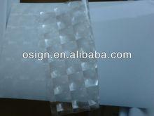 3D transparent cold lamination foil for digital print,pvc vinyl rolls