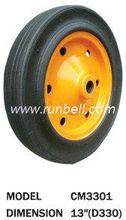 "13"" Solid Rubber barrow wheels"