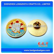 Custom Football Metal Pin Badges/Medallion Souvenir