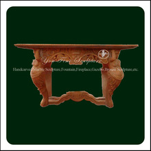 Hand carved natural stone cabinet basin