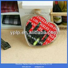 Promotion heart shape acrylic fridge magnet wholesale
