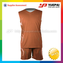 Cool Dry Mesh 100% polyester basketball uniforms sublimation