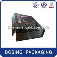 Cardbord packaging box with window, EVA foam insert