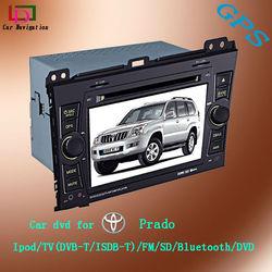auto radio gps car dvd 2 din for toyota prado