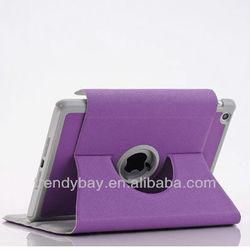 Rotating leather case for ipad mini