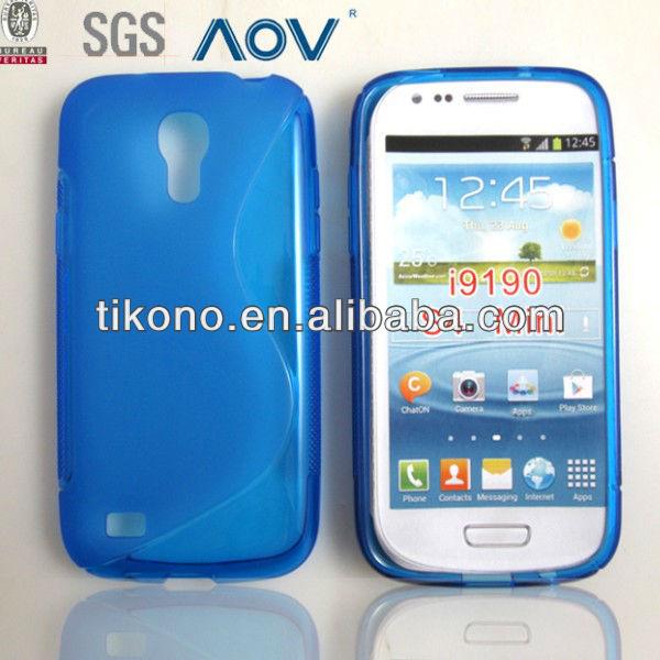 NEW 2013 S Style TPU S4 Mini case