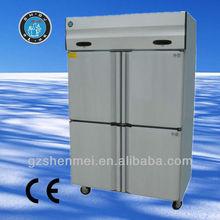 ประเภทหรูหรา0.5mmสแตนเลสเหล็กเชิงพาณิชย์ตู้เย็นlg