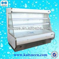 commercial cooler showcase refrigerator for fruit vegetable , milk