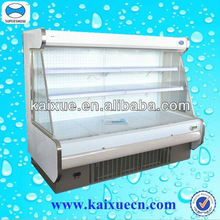 commercial cooler showcase refrigerator for fruit vegetable , milk