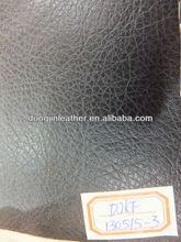 2013 litchi grain anti scratch upholstery furniture sofa chair PU leather in China