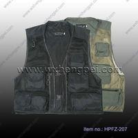 summer mesh photography Vest/ fishing vest/ muti-pockets vests