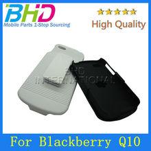Holster Combo Case For Blackberry Q10 Belt Clip Cover Kick Stand