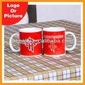 sublimação personalizado cerâmica vermelha foto impressa caneca