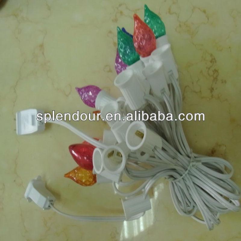 New UL/CE approved LED ball string light/LED decorative ball string lights/plastic ball string l ...