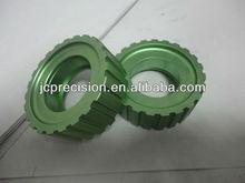 aluminum cnc lathe chrome plated parts