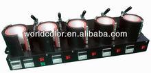 Mug Heat Press Machine(Five Heating Mats)