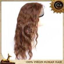 new arrival peruvian human hair golden yellow hair color