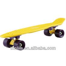 Penny Skateboard,Plastic Wave Skateboard,Cruiser Plastic Complete Skateboard (better than a penny farthing)