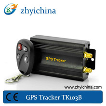 gsm gps tracking google map TK103B for car easy to install ,gps tracking device for vehicle resume management system