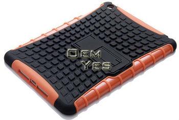 Robot Design PC Silicone Case For iPad Mini