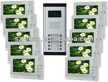 for 2-12 apartments video door phone intercom camera home swann security