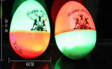 LED Lamp YIWU Market Wholesale Plastic Egg Maracas Toys