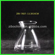 Handmade decorative types of glassware for hotels, restaurants