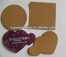 promotional cork coaster MDF customized design placemats