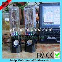 2013 ON SALE corlored led Water dancing speakers Fountain Speakers music