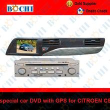 Touch screen car dvd player for CITROEN C5